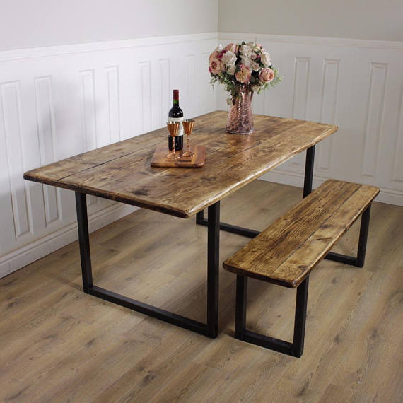 Brilliant Rustic Bench Gmtry Best Dining Table And Chair Ideas Images Gmtryco