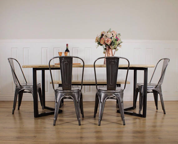 Lewis Industrial Dining Table Frickers Furniture